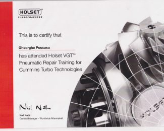 HOLSET VGT TRAINING